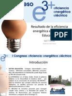 28 Resultado de La Eficiencia Energetica en El Sector Educativo