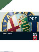 Manual for Alfa Romeo 156