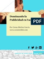 Dominando La Publicidad en Facebook Por Gema Molina Garcia Social With It