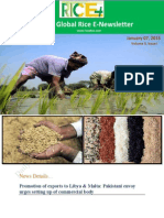 7th January,2015 Daily Global Rice E-Newsletter by Riceplus Magazine
