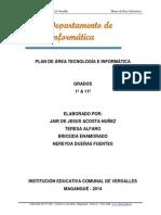 Plan de Area Informatica primaria