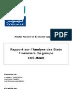 Rapport Cosumar 2