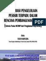 20071026 Integrasi Pengelolaan Pesisir Terpadu Dalam Rencana Pembangunan Daerah Paska Mcrmp