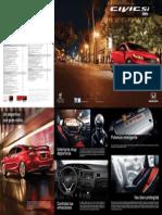 Brochure Civic Si 2014