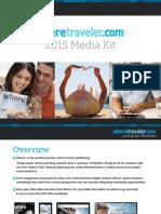 WhereTraveler Media Kit 2015