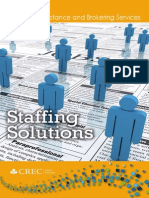 CREC Staffing Solutions Brochure