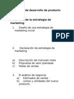 Proceso de Desarrollo de Producto