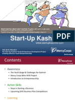 Start-Up Kashmir Awareness Binder