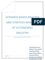 Strategic Road Maps for Auto mobile industry