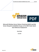 WSFC and AlwaysOn Deployment Guide