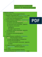 Klasifikasi Berdasarkan Workshop American Academy of Periodontology