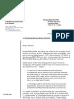 Lettre du CIANE à M. Didier HOUSSIN, Directeur de la DGS, concernant la pratique de l'épisiotomie dans la formation des sages-femmes, 6/09/2005