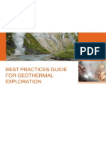 Best Practices Guide for Geothermal Exploration