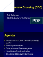 Clock Domain Crossing (CDC)_FV-Lecture17