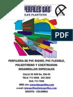 CATALOGO Perfiles Plasticos