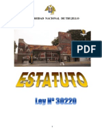 Estatuto Unt Ley 30220