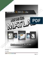 Sayısal Analiz (MATLAB) - Muhammet Çağatay Ders Notları