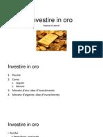 Investire in oro.pptx