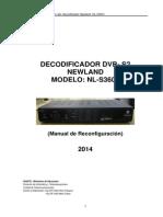 Manual de Reconfiguracion Del Receptor de Video Dvb