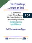 Instrumentation and Pigging