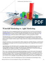 Waterfall Marketing Vs