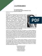 RETRATO LITERARIO El Modernismo y Ruben Dario