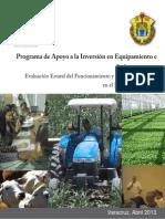 Evaluación PAIE 2013 Verracruz