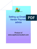 SAP Emailing Vendor Payment Advice pdf | Sap Se | Email