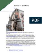 Tácticas romanas de infantería