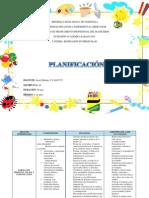 Planificacion Juceli Méndez
