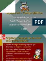 Tippens Fisica 7e Diapositivas 24 Campo Eléctrico