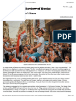 In the Syria We Don't Know by Charles Glass the New York Review of Books