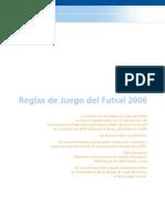 Reglamento Futsal 2006