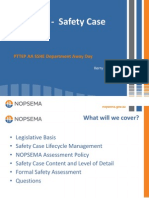 Nopsema Safety-Case Presentation