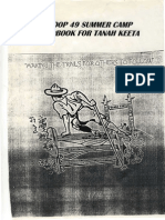 Tanah Keeta Summer Camp Handbook 1996