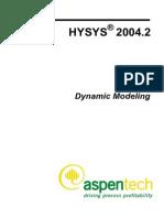 Aspen Hy Sys Dynamic Modeling