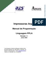 Manual Argox