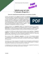 Initiative pour un Label Naissance respectée - charte fondatrice du Ciane