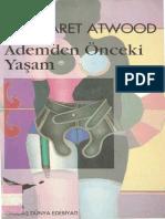 Margaret Atwood-Ademden Önceki Yaşam