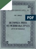 Tit Livije Istorija Rima II.pdf