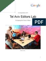 Editors Lab in Tel Aviv