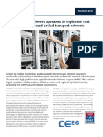 Solution Brief MPLS TP A