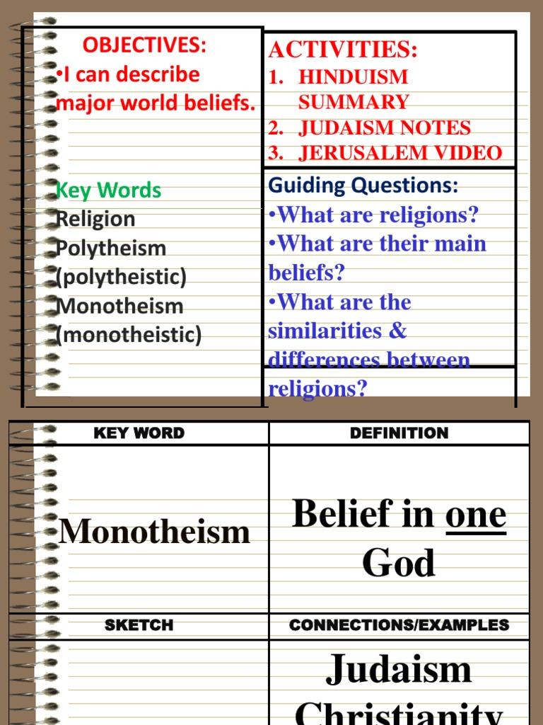 judaism 1 | monotheism | torah