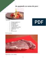 Mancare de Gogonele Cu Carne de Porc