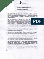 Acuerdo Ministerial 4036