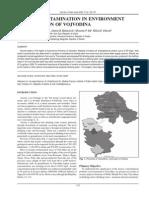 Arsenic contamination in environment in the region of Vojvodina, Miroslava J. Kristoforović-Ilić, Jelena M. Bjelanović, Miroslav P. Ilić, Milka M. Vidović [2009]