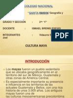 Presentación - Cultura Maya