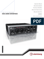 Steinberg UR22 Operation Manual