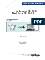 Bajada Datos SDL TOOL Nivel Digital