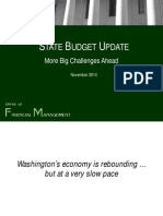 2015 Washington Legislative Budget Information